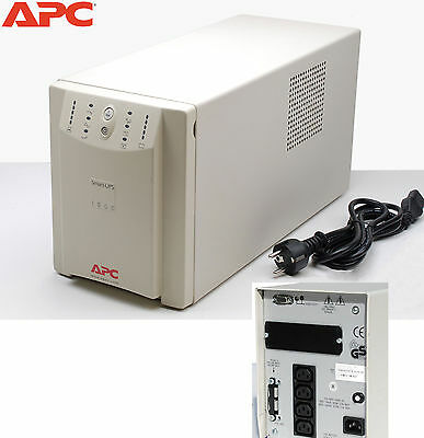 Home/office Usv Apc Smart-Ups 1000 1000I 1000Va Rs-232 Mit Neuen Batterien Ups12