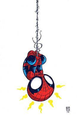 The Amazing Spider-Man #1 Skottie Young Variant Marvel 2014 Comic Book