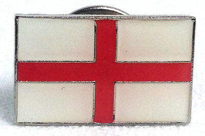 St. George's Cross England Flag - UK Imported Enamel Pin