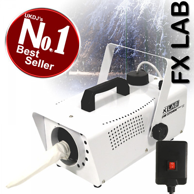 Artificial Snow Effects Machine 600w Party Snowflake FX inc Remote * Graded *