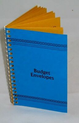 Budget Envelopes Vintage Style Simple Budget System That Works Blue Cover New