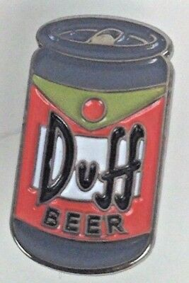 Duff Beer - Simpsons FOX Animated TV Series - Enamel Pin - Homer approved...