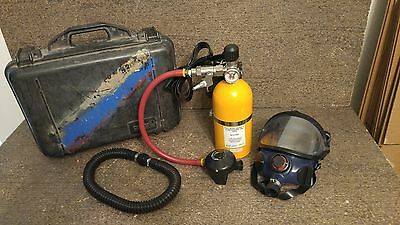 Willson Air System Regulator, Mask and 2216 PSI Tank, Fire Rescue Safety