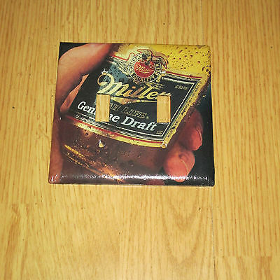 VINTAGE STYLE 2 HOLE Miller MGD LIGHT SWITCH COVER PLATE