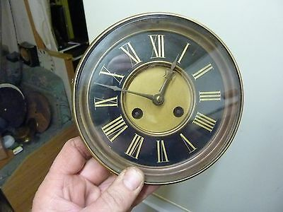 Large Antique French Clock Striking Movement &  Dial  (Sd1)