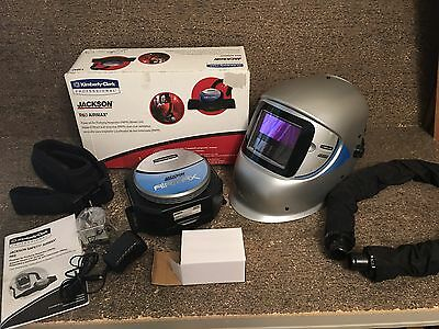 Jackson Safety R60 Airmax Kit, Blower 13042 & Mask Headpiece Helmet 13039