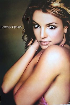 """BRITNEY SPEARS """"BARE SHOULDERS"""" POSTER FROM ASIA - Pop, Dance Music Diva Queen"""
