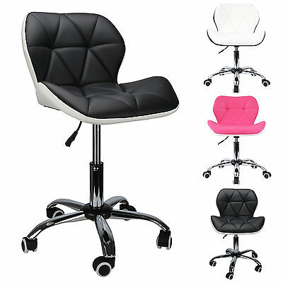 Swivel Computer Desk Office Study Chair PU Leather Adjustable Chair + 3 Colours