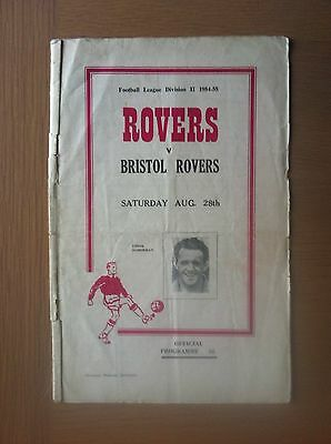 Doncaster Rovers V Bristol Rovers 1954-55