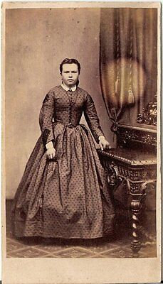 CDV photo Feine Dame - Hamburg um 1870