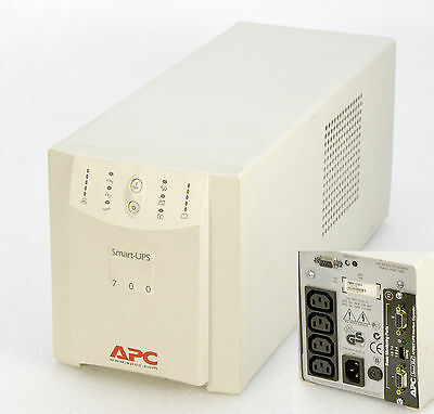 Home/office Usv Apc Smart-Ups 700  700Va Rs-232 Monitoring Neuen Batterien Ups14