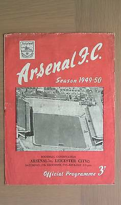 Arsenal Res V Leicester City Res 1949-50