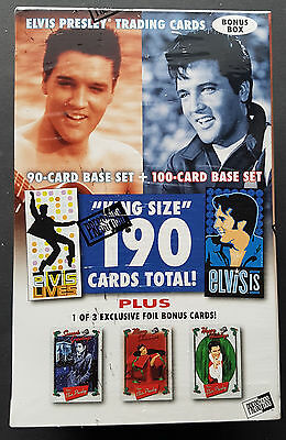 Press Pass Elvis Bonus Box (190 Cards Total) 2008 Elvis presley Trading cards