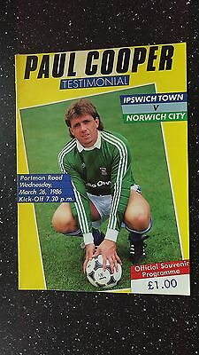 Ipswich Town V Norwich City 1985-86
