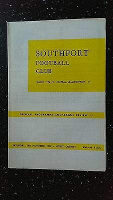 Southport V Rochdale 1977-78