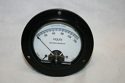 Messinstrument, Panel Meter - A.C. Volts 150V-  Simson electric Model 45