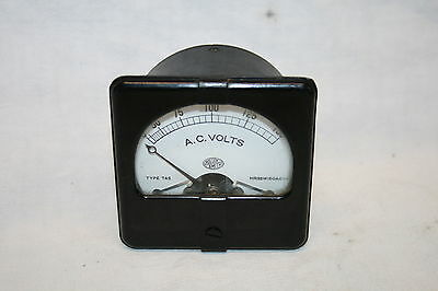 Messinstrument, Panel Meter - A.C. Volts 0 - 150 - Roller-Smith Bethlehem. PA