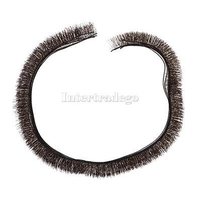 5 Pieces 200*8mm Dolls Eyelashes for BJD Dolls Make up Accessories Black