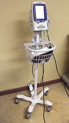 Welch Allyn Spot Vital Signs LXi With Thermometer~Probe Covers & Cuffs ~ SR21