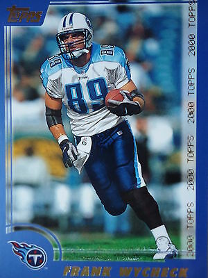 NFL 243 Frank Wycheck Tennessee Titans Topps 2000