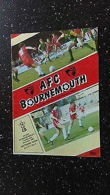 Bournemouth V Kettering Town 1984-85