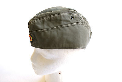 Vintage Military Cap Indie Retro Small