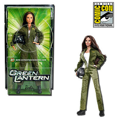 Barbie Carol Ferris Green Lantern 11-Inch Movie Doll 2011 SDCC Exclusive