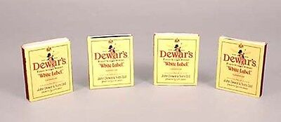 Set of 50 Genuine DEWAR DEWAR'S matchboxes - MINT!!