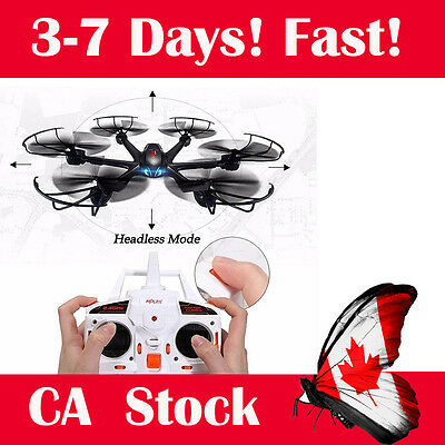 MJX X600 2.4G 6-Axis Gyro 3D Roll RC Quadcopter Helicopter without Camera Black