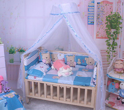Summer Baby Bed Mosquito Net for Kids Toddler Crib Cot Canopy Mesh Dome Curtain