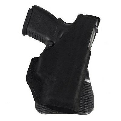 Galco PDL800B Paddle Lite Holster RH Black Leather Fits Glock 43