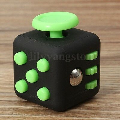 Magic Fidget Anxiety Stress Relief Focus 6-side Cube Gift For Adults&Child
