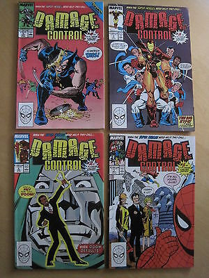 Damage Control : Complete Classic First 4 Issue Series. Marvel.1989