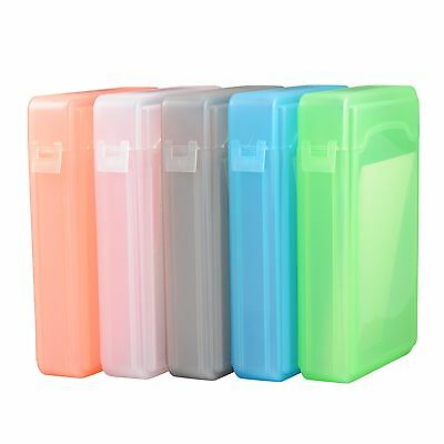 "5pcs 3.5"" HARD DISK DRIVE HDD PROTECTION STORAGE BOX CASE TANK Colour"