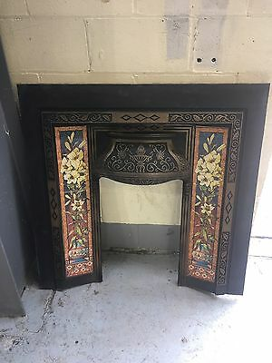 Beautiful Cast Iron Fire Surround