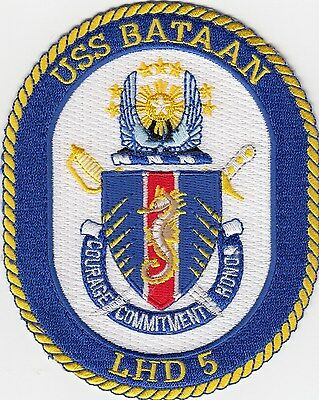 Us Navy Patch - Lhd 5 Uss Bataan