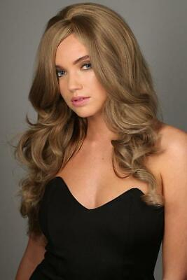 Stranded Full head long wig glam curls hairpiece Heat resistant Various colours