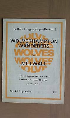 Wolverhampton Wanderers V Millwall