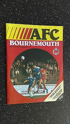 Bournemouth V Dorchester Town 1981-82