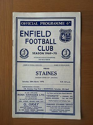 Enfield V Staines 1969-70