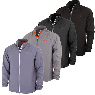 Puma Golf Mens 567411 Full Zip Wind Jacket Stretch Windshirt WindCELL Tech