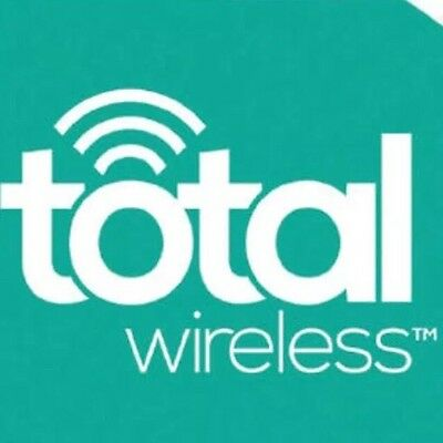 Total Wireless Unlimited Talk And SMS (15GB) 3 Line, 30 Service Days