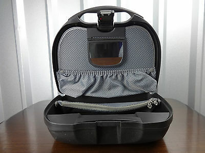 Samsonite hard case womens black hard travel vanity case combination code lock