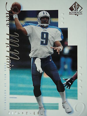 NFL 86 Steve McNair Tennessee Titans Topps 2000 SP Authentic