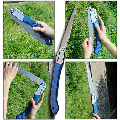 Gardening Portable Stainless Steel Trimming Folding Saw For Tree Plant Pruning