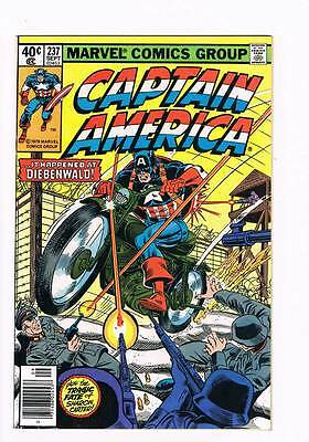 Captain America # 237 From the Ashes....  ! grade 9.0 scarce book !!