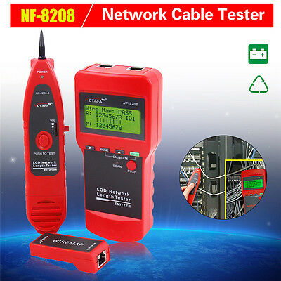 2017 Network Cable tester Ethernet Cable Tester Network Tracker for Cat5E Cat6E
