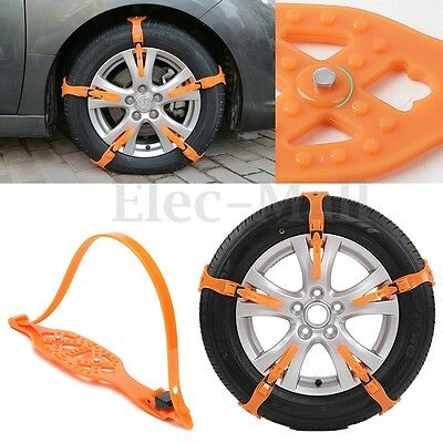 Anti-skid Chains For Universal Car/Truck Snow Mud Wheel Tyre Tire Cable Ties