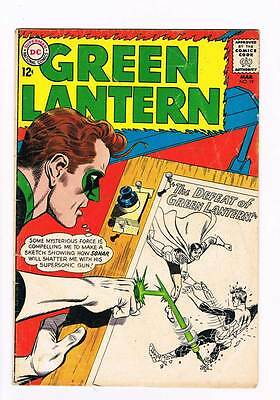 Green Lantern # 19 The Defeat of Green Lantern !  grade 4.5 scarce book !!