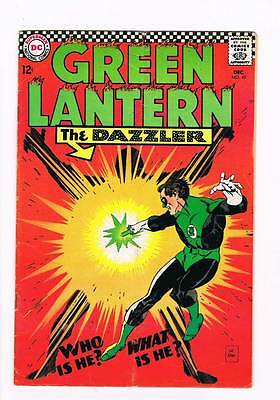 Green Lantern # 49 The Dazzler ! grade 5.0 scarce book !!